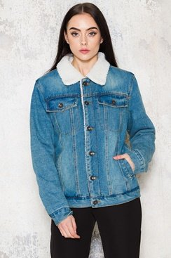 Single Denim Jacket