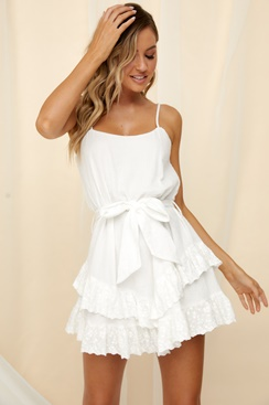 White dress - Bobbo
