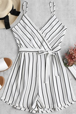 Success Playsuit - White