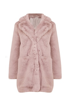 Super Soft Fake Fur Coat