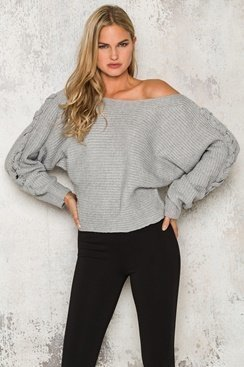 Taylor Sweater - Grey