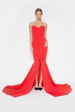 Valentine Dress - Red