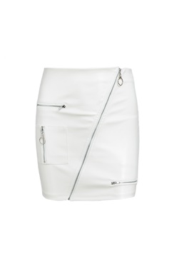 Vegan Dina Skirt - White