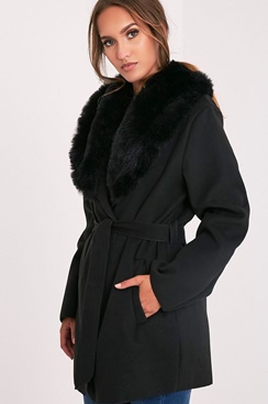 Vegan Waterfall Coat