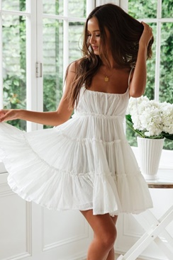 White dress -  Annabelle