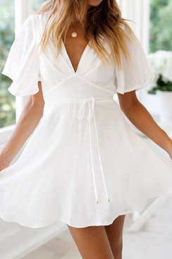 White dress - Janna