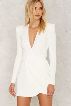 White dress - Zeana