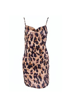 Leopard patterned dress - Wild