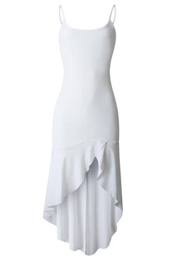White maxi dress - Juliet