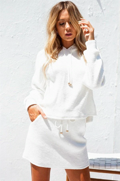 White knit set - Shirley