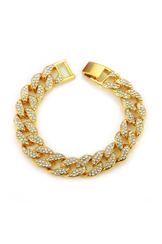Armband med bling - Cuban King
