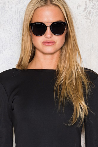 Black Spectra Sunglasses