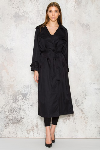 Diane Trenchcoat - Black