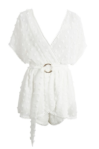 Hvit playsuit - Dolce