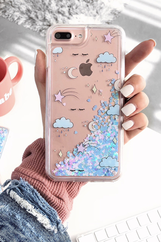 Dreamy Glitter iPhone Case