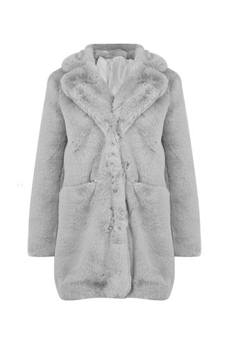 Lewis Faux Fur Coat