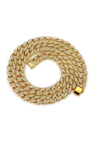 Mens necklace - Cuban Gold Chain