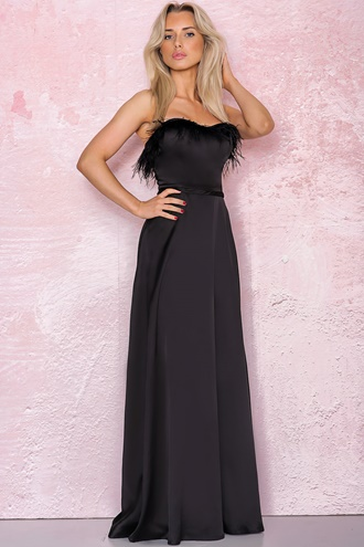 Black maxi dress - Heather
