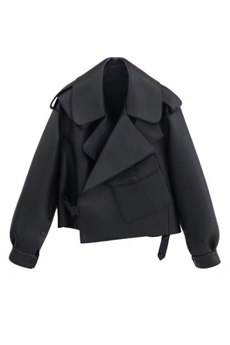 Black lamb skin jacket - Chloe