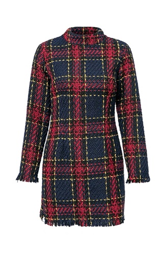Classy plaid dress - Stitches