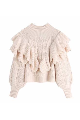 Knitted sweater - Julia