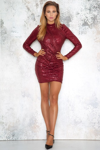 Alva Sequin Dress