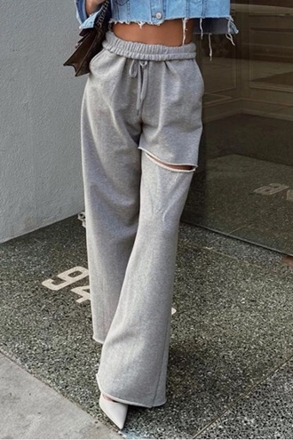 Grey Sweatpants - Coella
