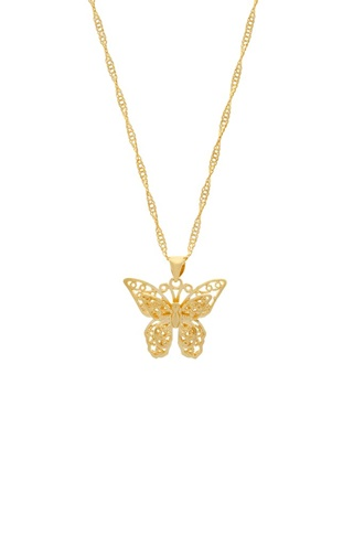 Butterfly Necklace - Gold