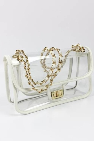 Luna handbag - White