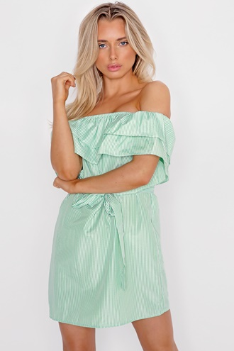 Maddie Dress - Lime
