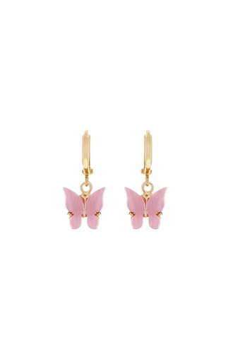 Butterfly Earrings - Blush