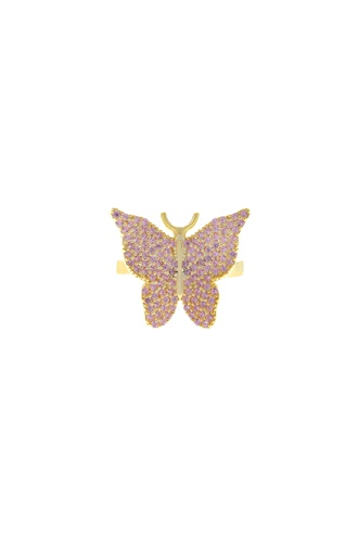 Butterfly Ring - Pink