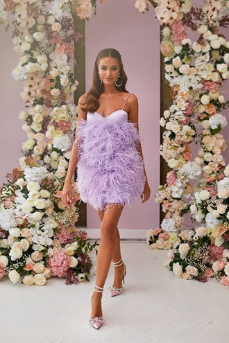 Shailee Dress - Lilac