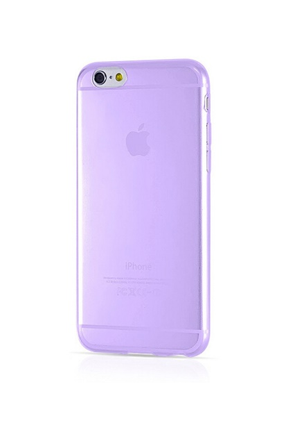 Mobilskal för iPhone 6 Plus - Purple Silicone Cover