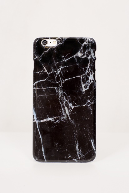 Mobilskal för iPhone - Black Marble Case