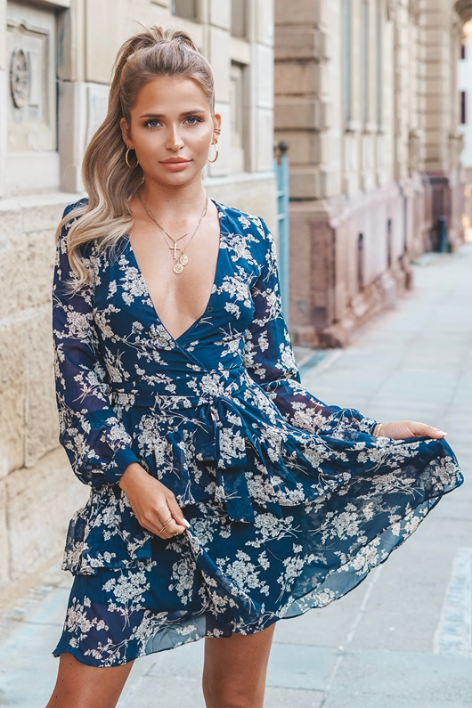 DM Floral dress - Got My Love