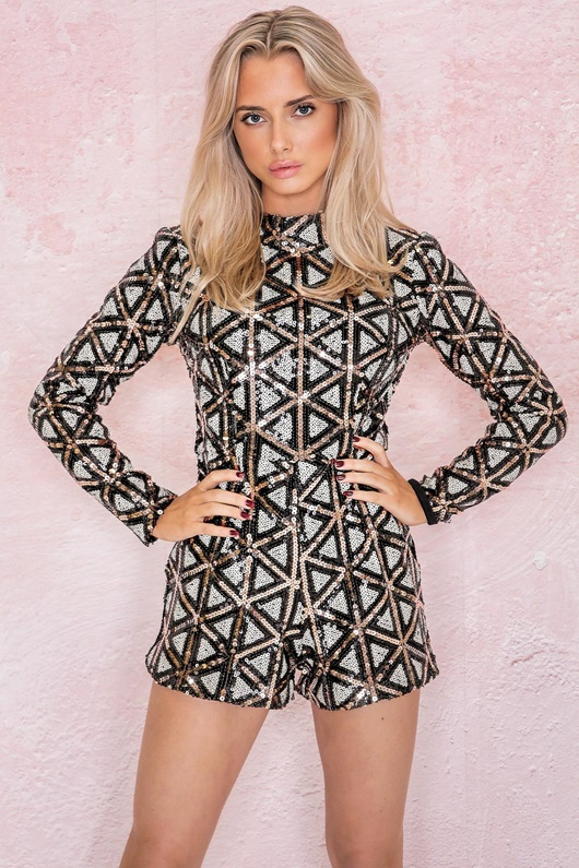 DM Checkers Playsuit