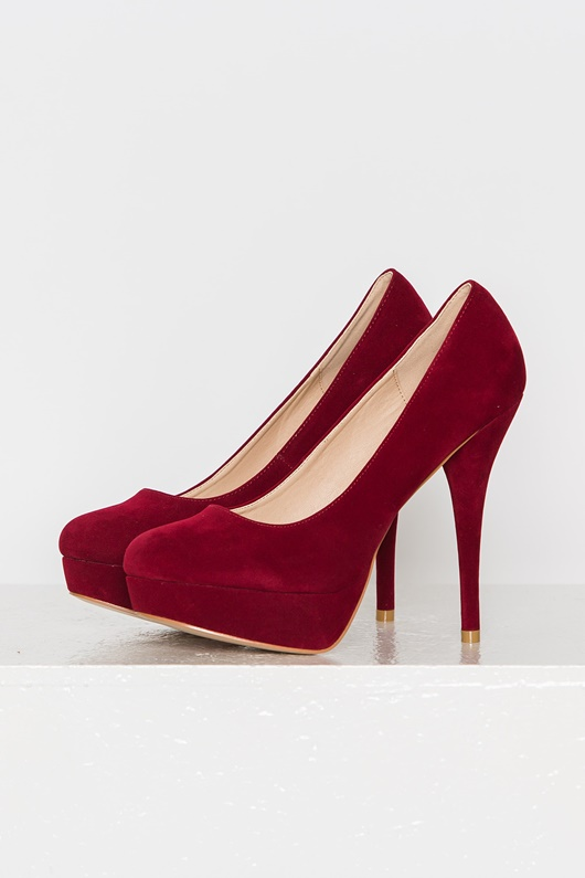 DM Chloé Heels - Red