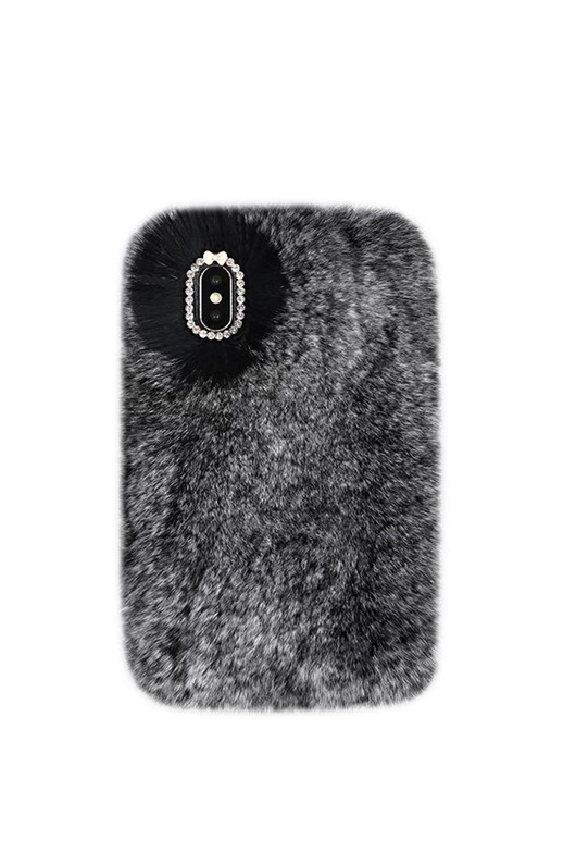 DM Cozy Fur Case - Grey