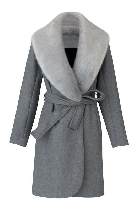 DM Avenue Coat - Grey