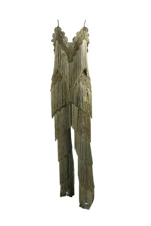DM Fearless Fringe Pantsuit - Army Green