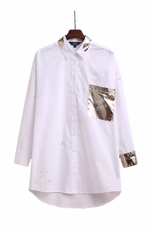 DM Metallic Shirt