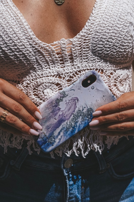 DM Save the Ocean Case for iPhone - Glitter Deluxe