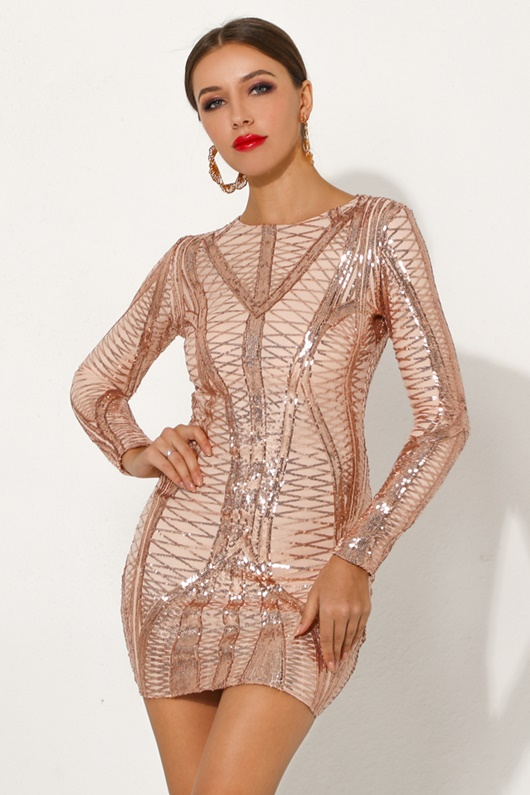 DM Sequin party dress - Selma