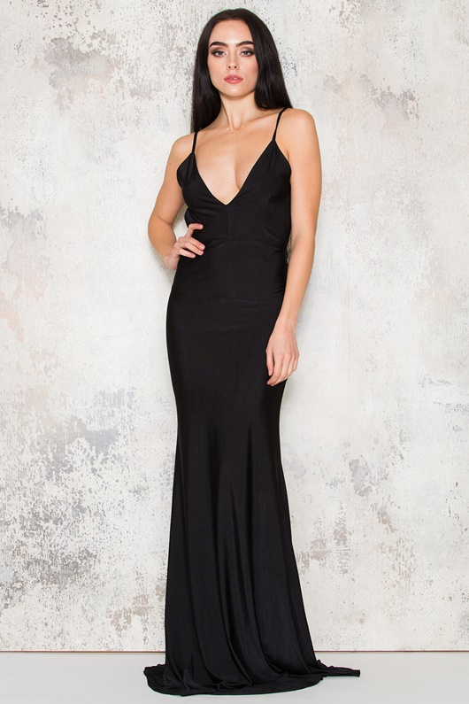 DM Paradise Maxi Dress - Black