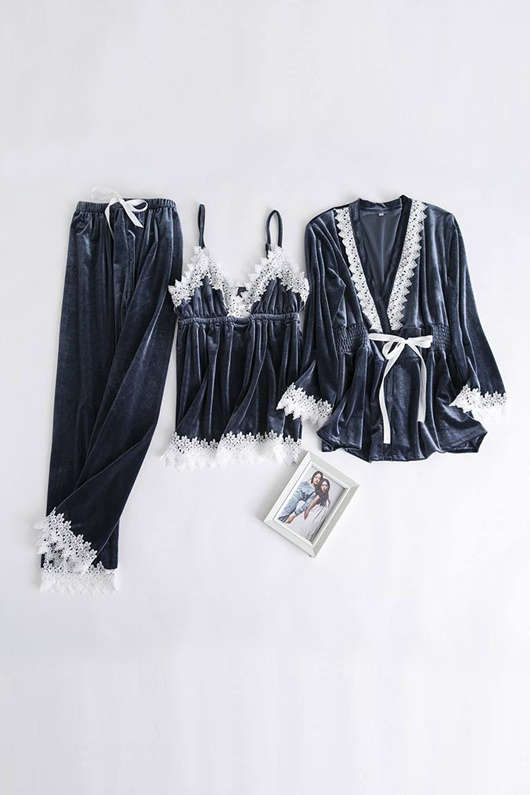DM Pajamas Set - Blue