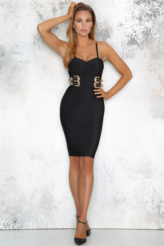DM Diaz Dress - Black