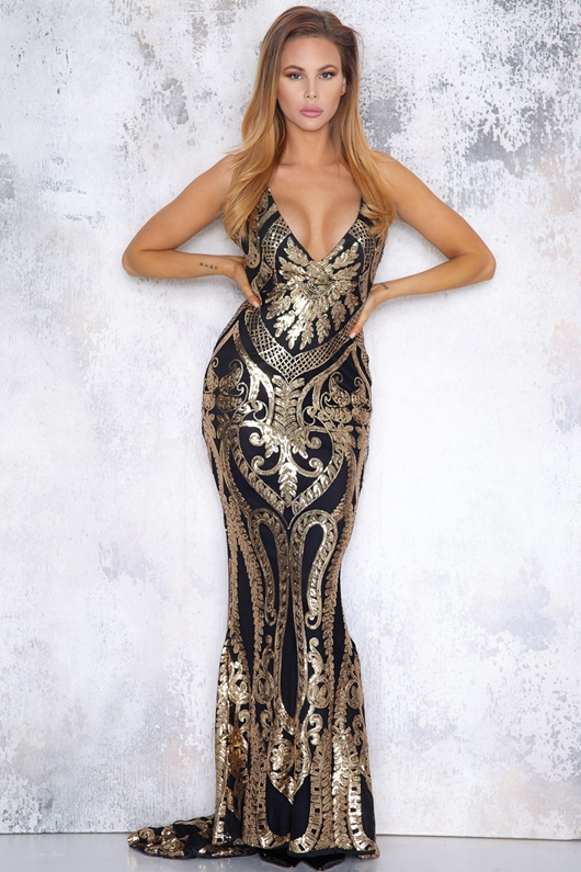 DM Mystique Maxi Dress