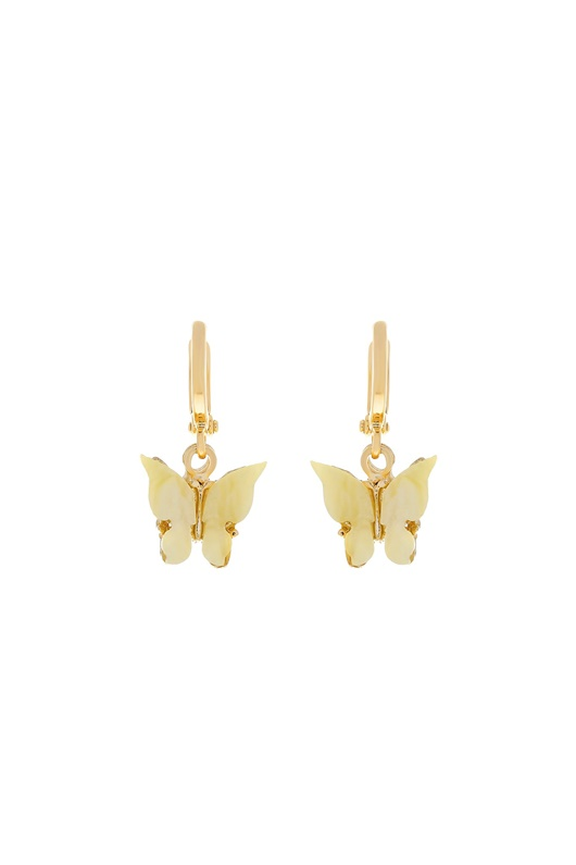 DM Butterfly Earrings - Sunshine