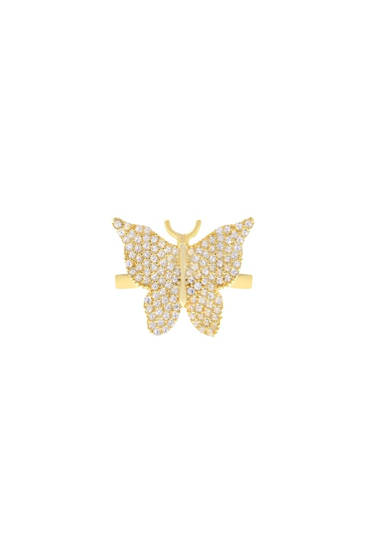 DM Butterfly Ring - Gold